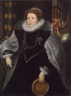 Metsys Elizabeth I The Sieve Portrait c1583 - Élisabeth Ire (reine d'Angleterre) — Wikipédia