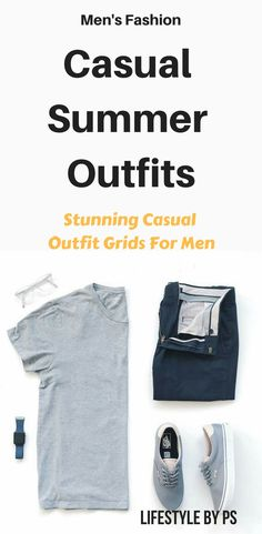 acb1e6a2ec2 Looking for some smart casual summer outfits for men  look no further