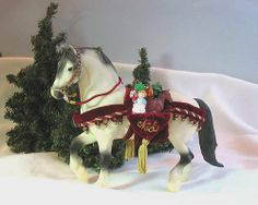 1999 Breyer Holiday Horse-Jack Frost