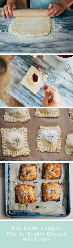 Who doesn't love homemade hand pies? Enlist your kids to help make cherry and cream cheese pie. You'll use this recipe time and time again.
