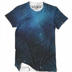 """belovedwear® presents the #Lush Galaxy Tee. This """"all over"""" print T-Shirt is made using a special sublimation technique to provide a vivid graphic image through"""