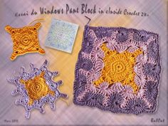 Granny Square Blog - French blog with lots of granny square ideas