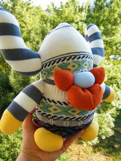Free Shipping Unique Handmade Sock Viking Toy Home Decor Soft Doll Birthday Gift Baby Shower Gift by RageRabbit on Etsy