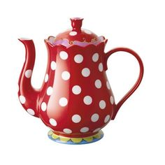 Koffie&Kado - Oilily theepot rood, Oilily found on Polyvore featuring polyvore, fillers, backgrounds, tazze e teiere and thing