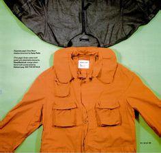 5ba8e9221c igwevision  helmut lang neck rest jacket in orange AW00 ad Orange Jacket