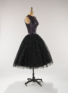 1955 Norman Norell Cocktail Dress owned by Lauren Bacall