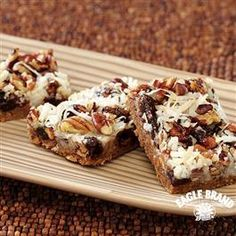 Fruit and Spice Magic Cookie Bars from Eagle Brand® Sweetened Condensed Milk