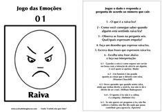 Carlota jogo das emoções 1 raiva Hans Christian, Emotional Intelligence, Psychology, Coaching, Homeschool, Stress, Books, Kids, Children
