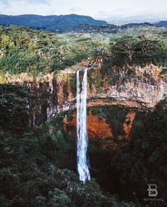 Chamarel Falls Black River Mauritius By: @finn Be sure to check out @BeautifulMenswear! by beautifuldestinations