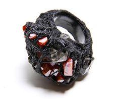 Aoi Kotsuhiroi Wet Moon Ring Collection