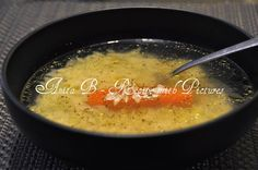 Recipe With Pictures: Hungarian Chicken Soup