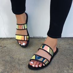 JGeTters Women Exquisite Dazzling Slide Slippers - Cheap Deal, online shopping in nigeria, best cheap online shopping sites in nigeria, pay on delivery sites in nigeria Shoes Flats Sandals, Slipper Sandals, Cute Sandals, Cute Shoes, Wedge Shoes, Me Too Shoes, Shoe Boots, Shoes Sneakers, Heels
