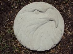 Eagle Garden Plaque Stepping Stone by MountainArtCasting on Etsy