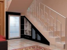 Under stairs closet storage for small space solutions