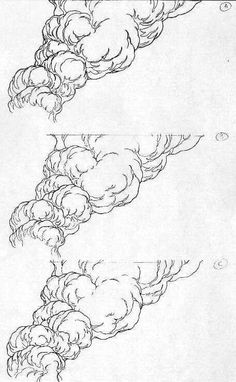 Drawing/Animating Water, Smoke, Fire, Weather and Other Effects - AWN Forums (Pour Water Drawing) Smoke Drawing, Fire Drawing, Water Drawing, Manga Drawing, Animation Reference, Drawing Reference, Explosion Drawing, Animation Tutorial, Illustration