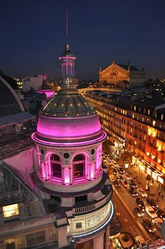 a little bit of pink in Paris