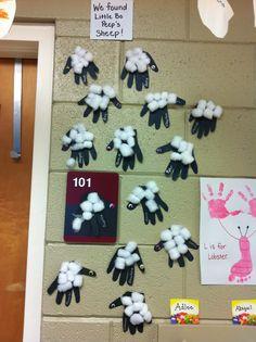 little bo peep crafts preschool - Google Search