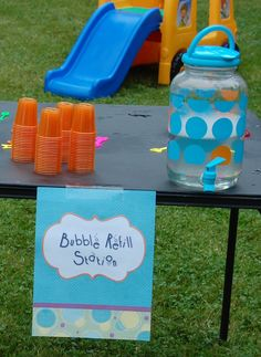 Kids love bubbles! especially maddison more ideas for the bubble party