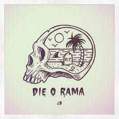 Die-o-rama ~ Jamie Browne jamiebrowneart.com
