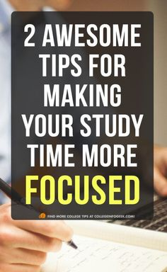 2 study tips that will help you get homework done faster and study better for exams!