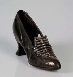 Dinner pumps Marshall Field & Company ca. 1917