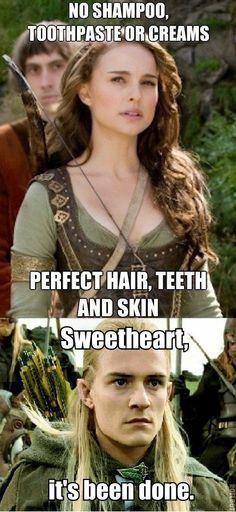 Natalie Portman has nothing on Legolas.