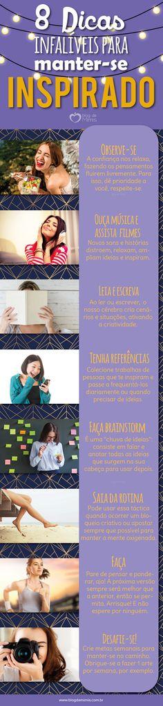 8 Dicas infalíveis para se manter inspirado - Blog da Mimis #blogdamimis #inspiration #criatividade #designer #office