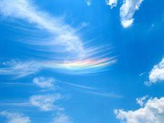 #rainbow #sky #summer