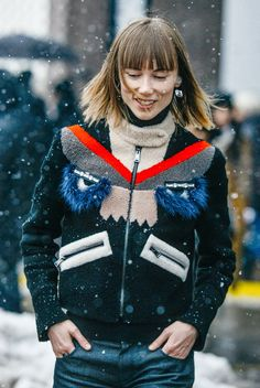Style Guides: New York Fashion Week F/W 2015: Street Style