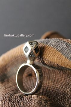 Domed TUAREG Berber ring from Sahara desert. African ethnic, a Boho tribal handmade piece of jewellery. Bedouin, Berbere, Touareg, Ethnic by Timbuktugallery on Etsy