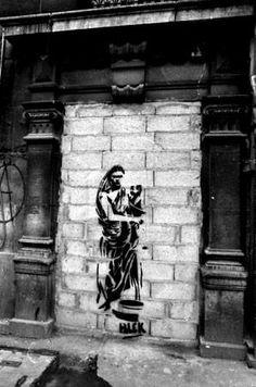Blek Le Rat Paris france 1984