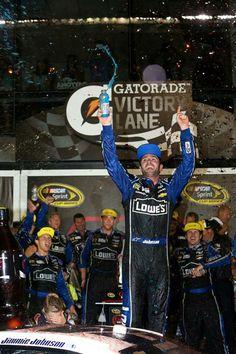 Jimmie Johnson wins at Daytona
