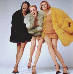 Carolyn Murphy, Kylie Bax and Karen Elson Carolyn Murphy, Major Models, 90s Models, Karen Elson, Steven Meisel, Viviane Sassen, Grace Coddington, Image Mode, Vogue Us