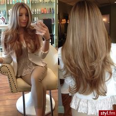 medium blond haircolor