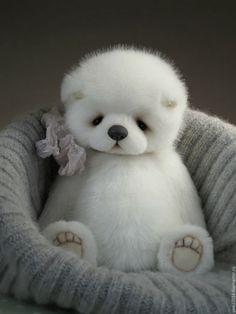 Купить Effie - тедди, мишка, мишка тедди, тедди мишка, медвежонок, мишутка, подарок, белый