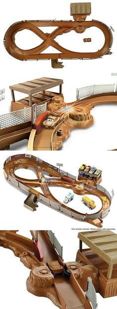 Cars 142316: Disney Pixar Cars 3 Thunder Hollow Criss-Cross Track Playset -> BUY IT NOW ONLY: $44.99 on eBay!