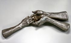 View The Welcoming Hands by Louise Bourgeois on artnet. Browse more artworks Louise Bourgeois from Galerie Karsten Greve. Hand Sculpture, Abstract Sculpture, Metal Sculptures, Modern Sculpture, Bronze Sculpture, Louise Bourgeois Art, Found Object Art, Hand Art, French Artists