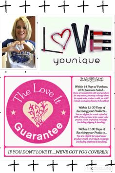 Love it guarantee, Younique