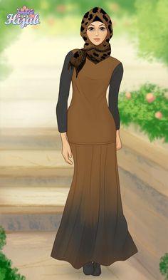 Hijab Muslim, High Neck Dress, Casual, Quotes, Dresses, Fashion, Quotations, Vestidos, Moda