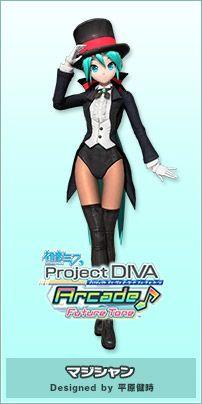 モジュール | 初音ミク Project DIVA Arcade Future Tone 公式サイト