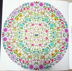 #비밀의 정원 #secret garden #ひみつの花園 #모나미 #라이브컬러 #live color #컬러링북 #coloring book #coloring book for adult #大人の塗り絵 #コロリアージュ
