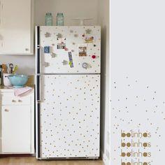 The charm of polka dots. #decor #details #kitchen #interior #design #casadevalentina