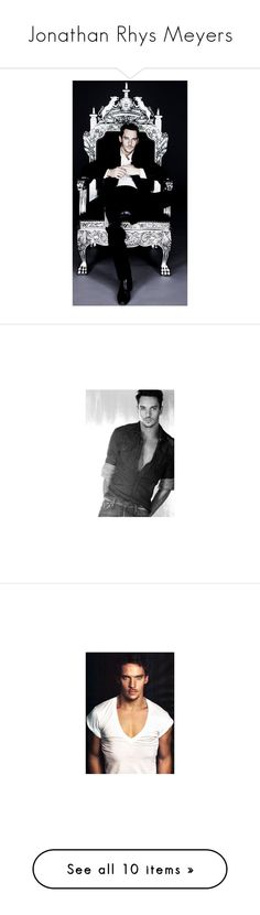 """Jonathan Rhys Meyers"" by fashion-nova ❤ liked on Polyvore featuring green home decor, victorian home decor and star home decor"