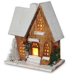 zimowy domek