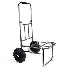 Veľmi praktický vozík na uľahčenie prevážania rybárskeho ťažkého príslušenstva k lovnému miestu. Ušetrí vaše ruky, nohy aj chrbát. Vozík je skladací, nezaberie veľa miesta.