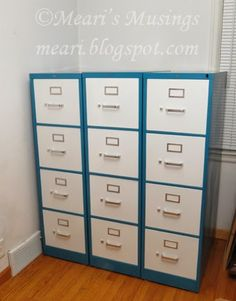 Meari's Musings: DIY Filing Cabinet Makeover