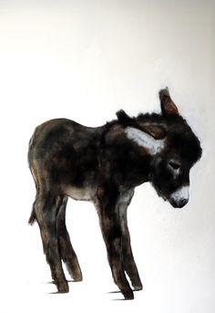donkey, 100*80 cm