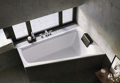 Asymetryczna wanna akrylowa z oświetleniem LED Riho Still Smart. #riho #remontdomu #wanny #wanna #designbath #owalna #bath #projektowaniewnetrz #budowadomutrwa #inspiracjelazienkowe #modernbathroom #architekciwnetrz #whitehome #instapic #interiorandhome #mynordicroom Sink, Bathtub, Bathroom, Led, Home Decor, Products, Sink Tops, Standing Bath, Washroom