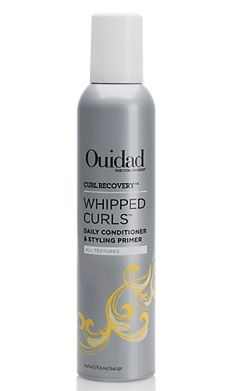 Ouidad Whipped Curls daily conditioner and styling primer - $26