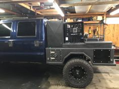 Custom Truck Beds, Custom Trucks, Truck Flatbeds, Pickup Trucks, Headache Rack Trucks, Cool Truck Accessories, Welding Beds, Cummins, Cool Trucks